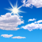 Sunday: Mostly sunny, with a high near 72. East wind around 7 mph.
