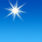 Today: Sunny, with a high near 38. Calm wind becoming southwest 5 to 8 mph in the afternoon.